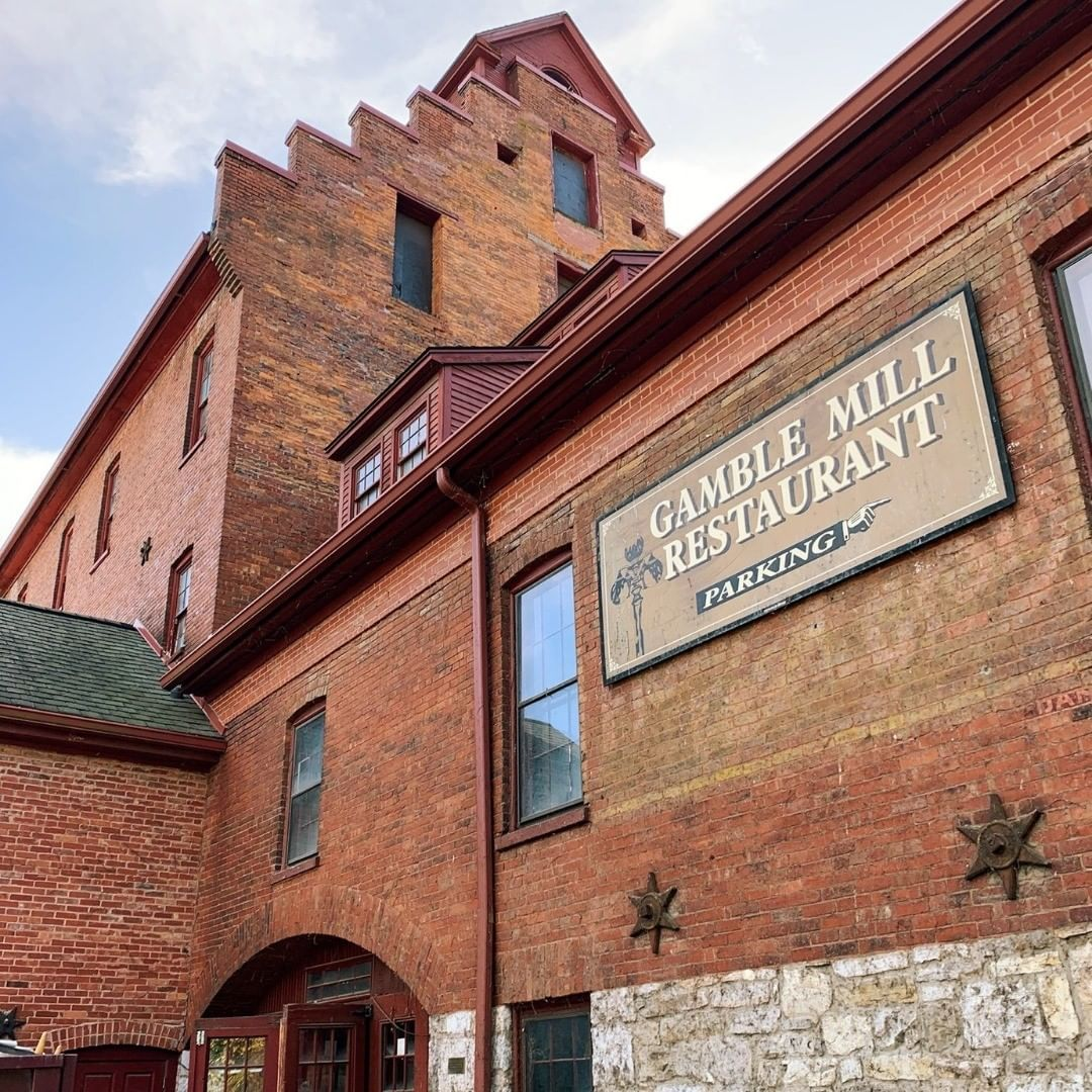 """Only by portraying Pennsylvania's buildings and landscapes within their agricultural context, then does a more complete historical picture emerge."" -Sally McMurry, Pennsylvania Farming You can often find the @bellefontemarket_gamblemill in the Gamble Mi"