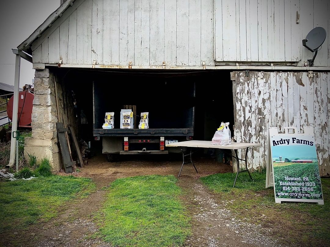 Weekends are for egg, meat and potato pickups at local farms like Ardry Farms!