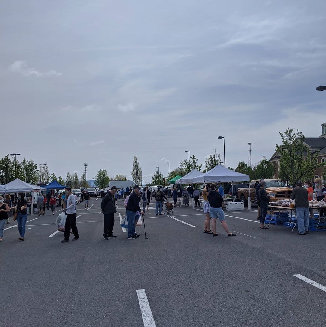 Over the weekend, North Atherton Farmers Market had their first market day of the 2020 season! They had over 800 people join them while still maintaining safe social distancing and wearing masks. Catch them again on May 23rd